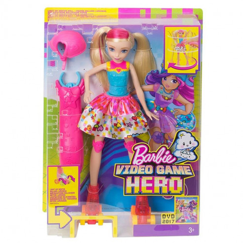 Տիկնիկ DTW17 չմուշկներով Barbie
