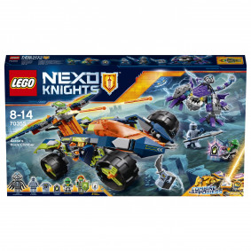 Կոնստրուկտոր 70355 Nexo Knights Ահարոնի Ամենագնացը
