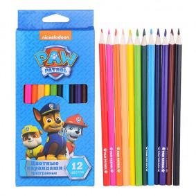 Գունավոր մատիտներ 33990, 12 գույն тм PAW Patrol