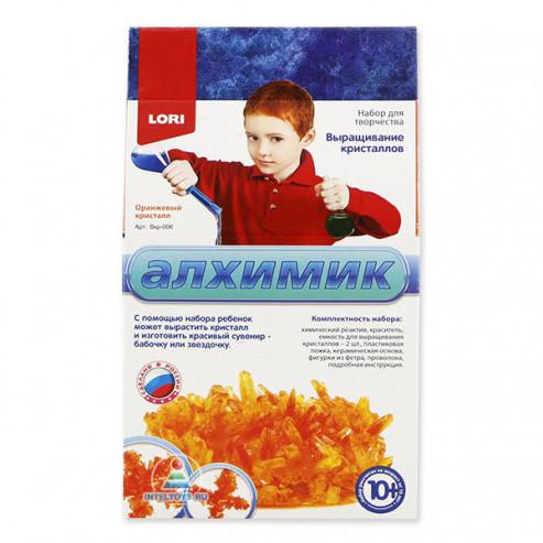 Բյուրեղների աճեցում Вкр-006 Նարնջագույն բյուրեղ