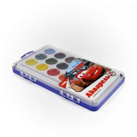 Ջրաներկ Акд-006 Disney Մեքենաներ 18 գույն