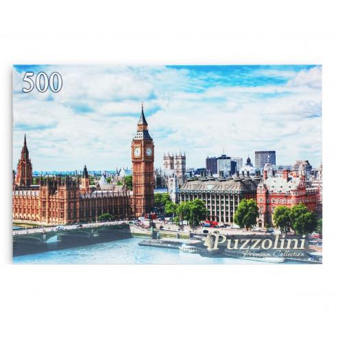 Puzzolini Փազլներ 500 կտոր GIPZ500-7670 Բիգ-Բեն և