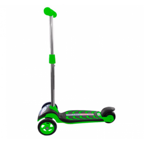 Սկուտեր GT9298 3-անիվ ProLine, կանաչ, PU անիվներ Т