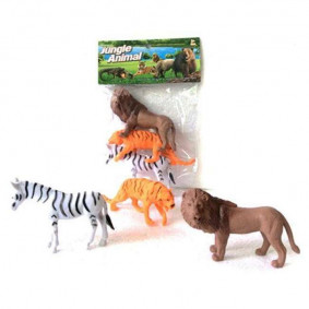 Հավաքածու 2A003-1 վայրի կենդանիներ, 8սմ, 3հատ փաթե
