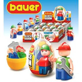 Կոնստրուկտոր 342 մարդուկ, ձվի մեջ Bauer Eggs 7 կ