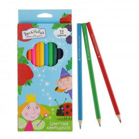 Գունավոր մատիտներ 12 գույն BEN & HOLLY 31700