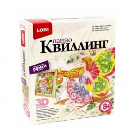 Պաննո Квл-019 Կվիլլինգ Ծաղկային փերի LORI
