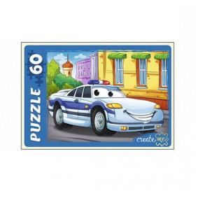 Փազլներ У60-7214 Ոստիկանական մեքենա 60 էլեմենտ Рыж