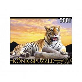 Փազլներ ГИК500-8297 konigspuzzle Բենգալյան վագր 50