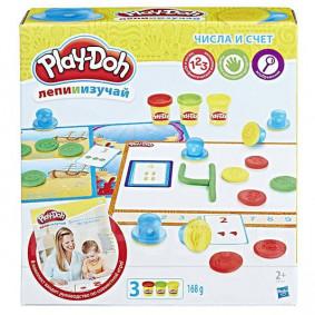 Игровой набор пластилина Hasbro Play-Doh Числа и счет (B3406)