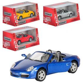 Մեքենա 1:34 Porsche Boxster S KT5302W իներցիոն, մե