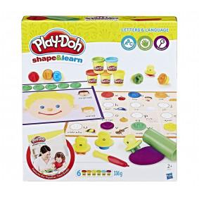Игровой набор пластилина Hasbro Play-Doh Буквы и языки (C3581)