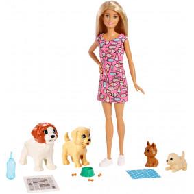 Հավաքածու FXH08 Շնիկների մանկապարտեզ Barbie