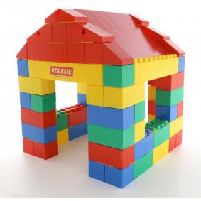 Կոնստրուկտոր շինարարական Տուն, 134 կտոր