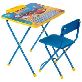 Комплект Д3Т Disney 3 - Тачки (стол 570+пенал+стул мягкий) NIKA