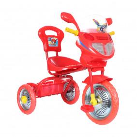 Հեծանիվ եռանիվ լույսով և երաժշտությամբ, մետաղական