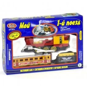 Շոգեքարշ 0657 «Իմ գնացքը» լույսով և ձայնով, ծխով