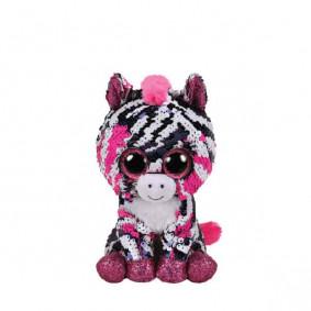 Փափուկ խաղալիք 36672 ZOEY - SEQUIN PINK ZEBRA REG