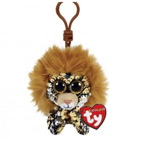 Փափուկ խաղալիք 35310 REGAL - SEQUIN LION CLIP