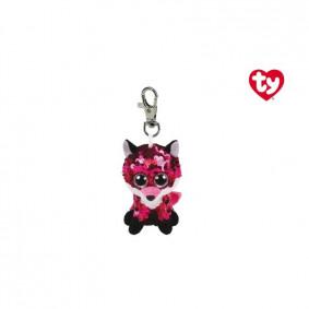 Փափուկ խաղալիք 35303 JEWEL - SEQUIN PINK POX CLIP