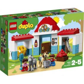 Конструктор 10868 DUPLO Town Конюшня на ферме LEGO