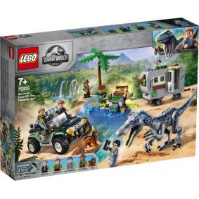 Конструктор 75935 LEGO JURASSIC WORLD Поединок с бариониксом: охота за сокровищами