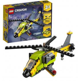 Конструктор 31092 CREATOR Приключения на вертолёте LEGO