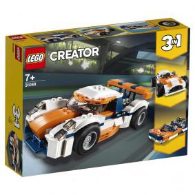 Конструктор 31089_1 CREATOR Оранжевый гоночный автомобиль LEGO