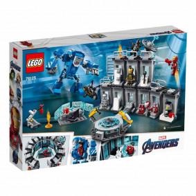 Конструктор 76125 LEGO Super Heroes Лаборатория Железного человека