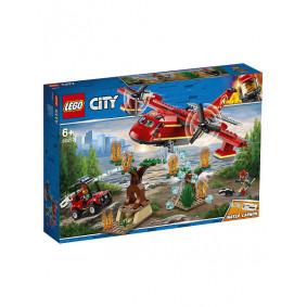 Конструктор 60217 LEGO CITY Пожарный самолёт