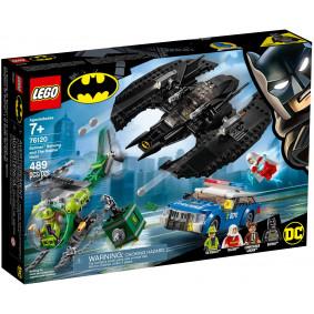 Конструктор 76120 LEGO Super Heroes Бэткрыло Бэтмена и ограбление Загадочника