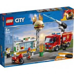 Конструктор 60214 LEGO CITY Пожар в бургер-кафе