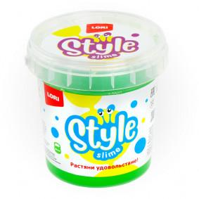 STYLE SLIME Сл-003 классический Зеленый с ароматом яблока, 150мл.