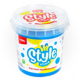 STYLE SLIME Сл-005 перламутровый Голубой с ароматом тутти-фрутти, 150мл.