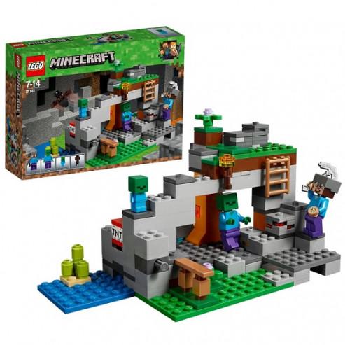 Կոնստրուկտոր 21141 Զոմբիներ LEGO Minecraft