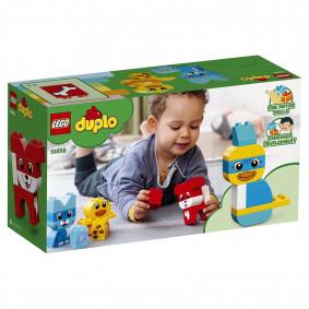 Կոնստրուկտոր 10858 Առաջին ընտանի կենդանին LEGO