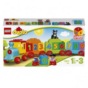 Կոնստրուկտոր 10847 Գնացք Հաշվիր և  խաղա LEGO
