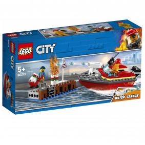 Կոնստրուկտոր 60213 Հրդեհ նավահանգստում LEGO CITY