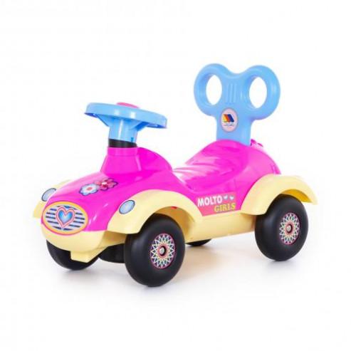 Ինքնագլոր մեքենա աղջիկների համար Սաբրինա №4