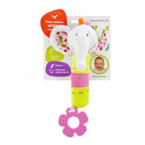 Խաղալիք 93557 կրծոտիչով Փղիկ Ծիմ Жирафики