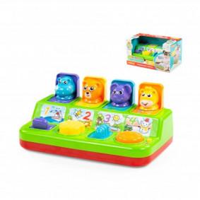 Ուսուցանող խաղալիք 77066 Խաղ անակնկալով ПОЛЕСЬЕ