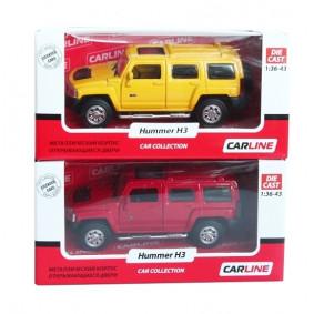 Մեքենա 1:43 Hummer H3 GT9336 մետաղական ТМ Carline
