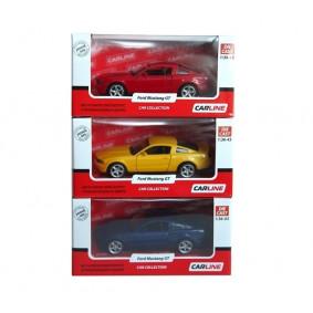 Մեքենա 1:43 Ford Mustang GT9327 մետաղ ТМ Carline