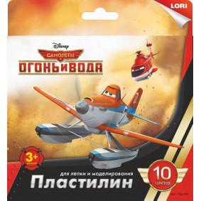 Պլաստիլին Ինքնաթիռներ 10գույն 20գր. Плд-006 LORI