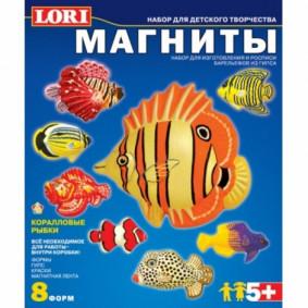 Կերպարներ М-004 մագնիսի վրա Կորալային ձկներ LORI