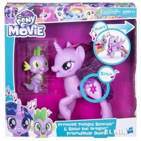 Պոնի C0718 My Little Pony Թվայլայթ Սփարքլ և Սպայկ,
