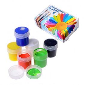 Ակրիլային ներկեր, Акр-001, 6 գույներ, LORI