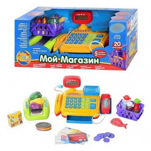 Դրամարկղ 7018 Իմ խանութը 20 էլեմենտ, Play Smart