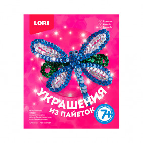 Զարդարանք Укр-034 ուլունքներից Մազակալ Ճպուռ LORI