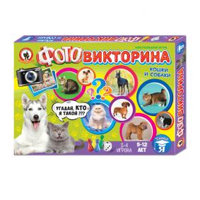 Խաղ 03436 Ֆոտոմրցույթ Կատուներ և շներ